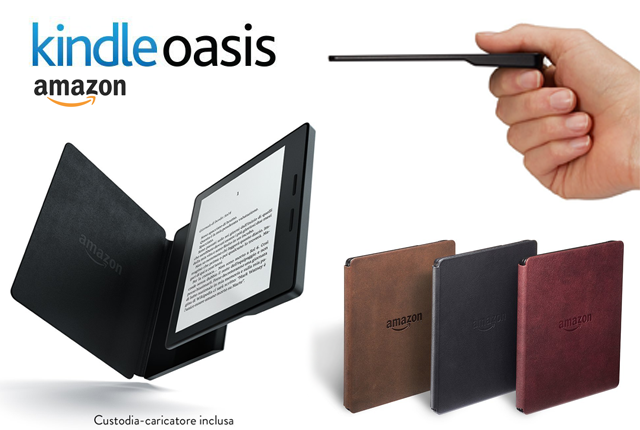 Kindle Oasis, il nuovo e-reader di Amazon