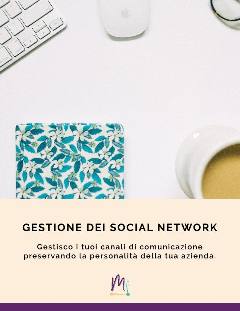 gestione dei social network